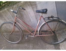 régi női Csepel kerékpár
