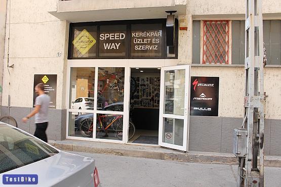Speed-Way kerékpárbolt