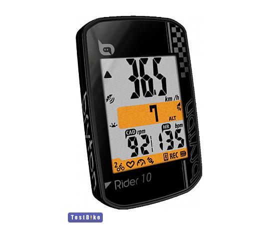 Bryton Rider 10 2019 km óra/óra