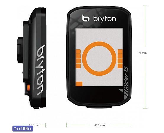 Bryton Rider 15E 2019 km óra/óra