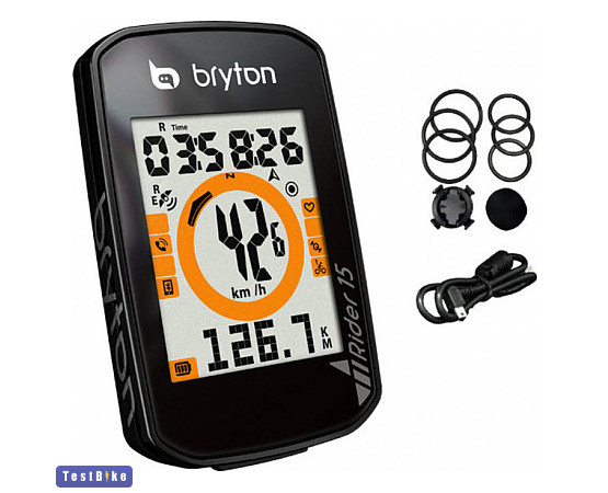 Bryton Rider 15E 2020 km óra/óra km óra/óra