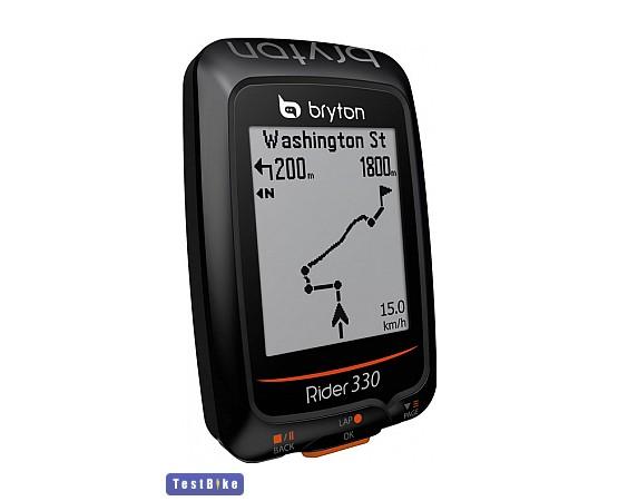 Bryton Rider 330E GPS 2017 km óra/óra