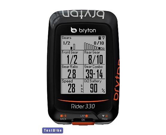 Bryton Rider 330E GPS 2017 km óra/óra km óra/óra
