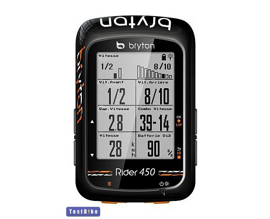 Bryton Rider 450 2019 km óra/óra