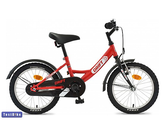 Csepel Drift 2014 gyerek kerékpár, Piros-fekete
