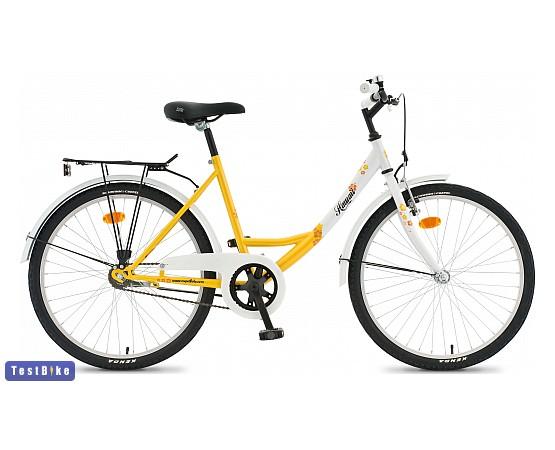 Csepel Hawaii 2014 gyerek kerékpár, Sárga-fehér