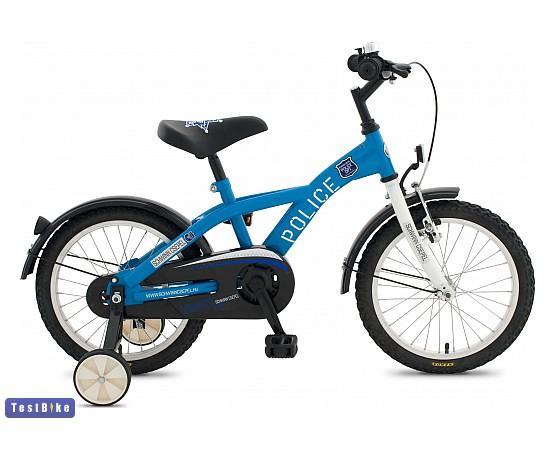 Csepel Police 2014 gyerek kerékpár, Kék-fehér