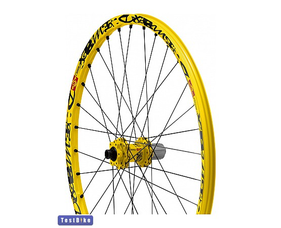Mavic DeeMax 2012 komplett kerék, Sárga komplett kerék