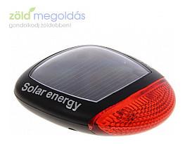 Napelemes solar hátsó kerékpár lámpa 2018