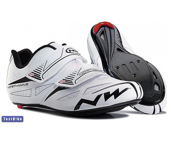 Northwave Jet Evo 2015 kerékpáros cipő, Fehér