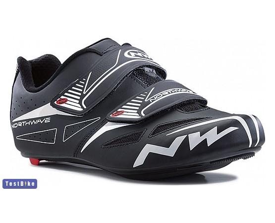 Northwave Jet Evo 2015 kerékpáros cipő, Fekete