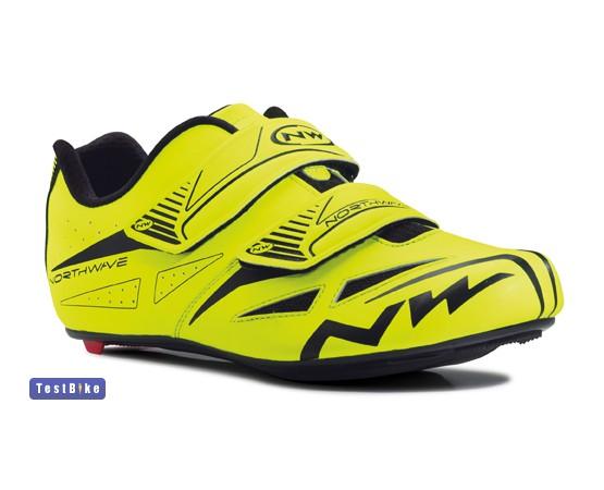 Northwave Jet Evo 2015 kerékpáros cipő, Sárga fluo kerékpáros cipő