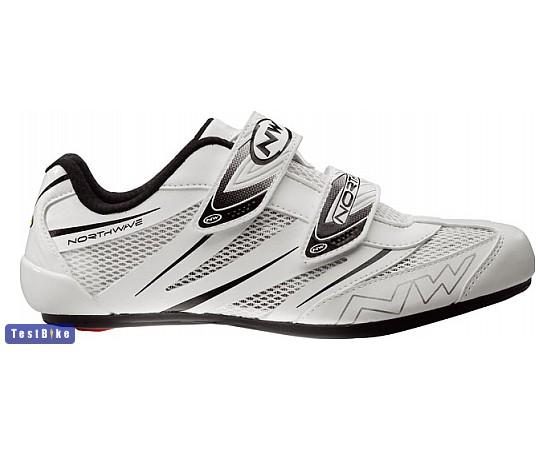 Northwave Jet Pro 2015 kerékpáros cipő, Fehér