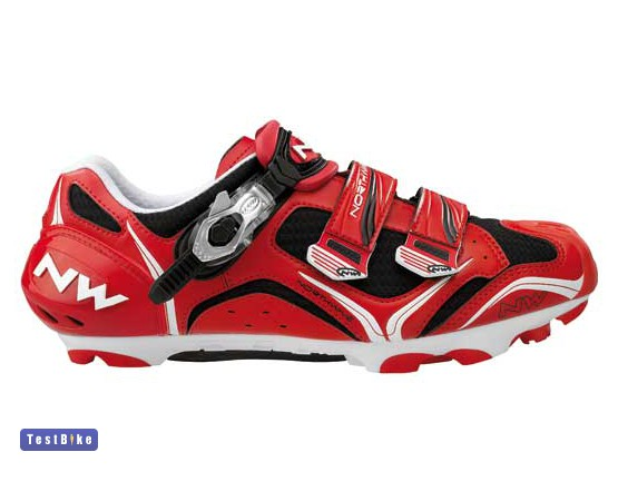 5f32237e10a7 Northwave Striker S.B.S. 2011 kerékpáros cipő, Piros - fehér kerékpáros cipő