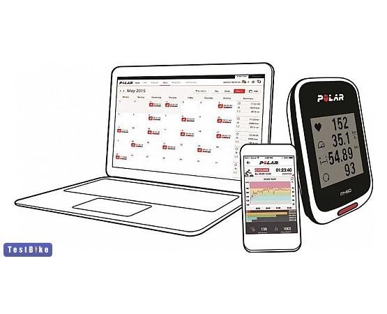 Polar M450 HR GPS 2016 km óra/óra
