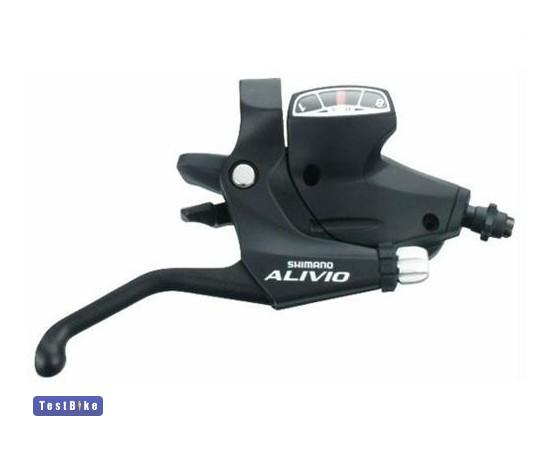 Shimano Alivio (ST-M410) 2011 fékváltó kar, Fekete