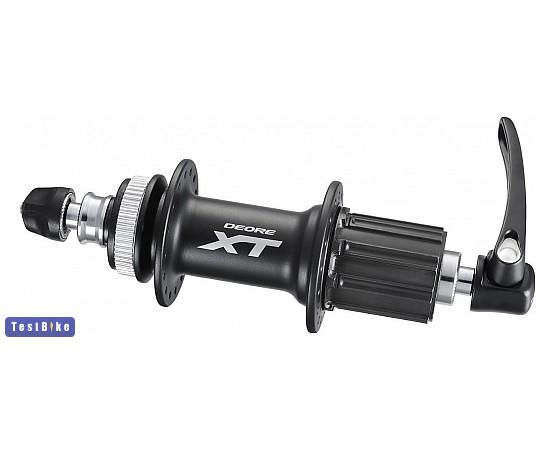 Shimano Deore XT h�ts� 2014, FH-M785 fekete ker�kagy