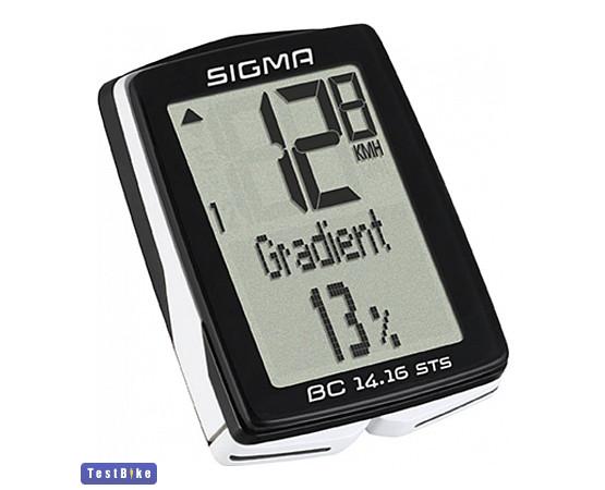 Sigma BC 14.16 2020 km óra/óra