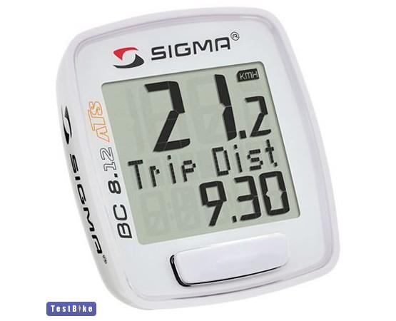 Sigma BC 8.12 ATS 2015 km óra/óra