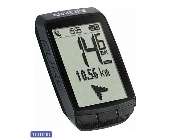 Sigma Pure GPS 2021 km óra/óra