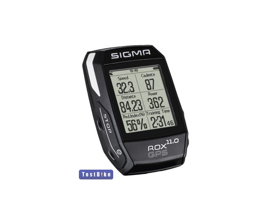 Sigma ROX 11 GPS 2017 km óra/óra km óra/óra