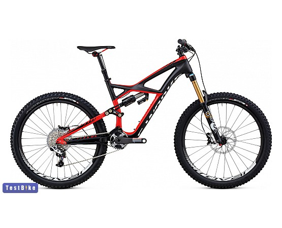 Specialized S-Works Enduro Carbon 2013 mtb, karbon-piros mtb