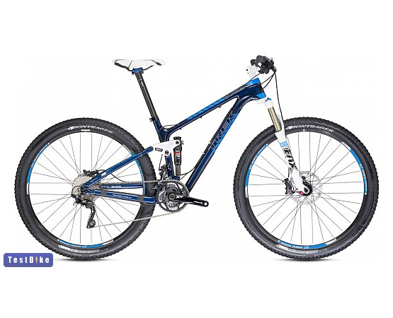 Trek Fuel EX 9.7 2014 mtb, Blue Smoke-True Cyan mtb