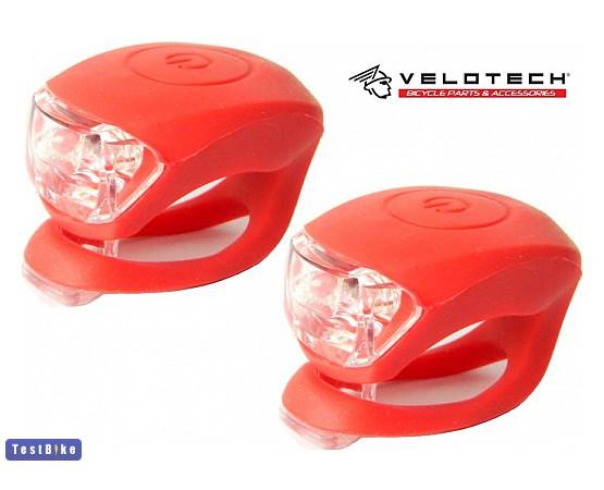 Velotech Silicon 2 LED 2016 lámpa lámpa