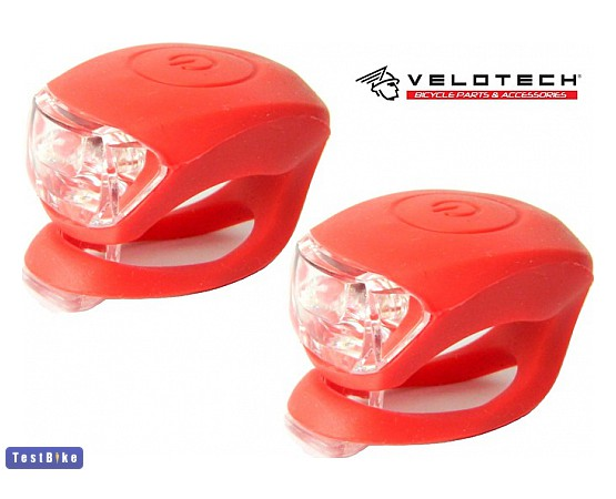 Velotech Silicon 2 LED 2016 lámpa