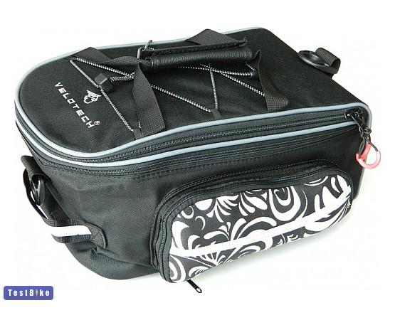 Teszt  Velotech csomagtartótáska hátizsák táska   vásárlás 3aeec38565