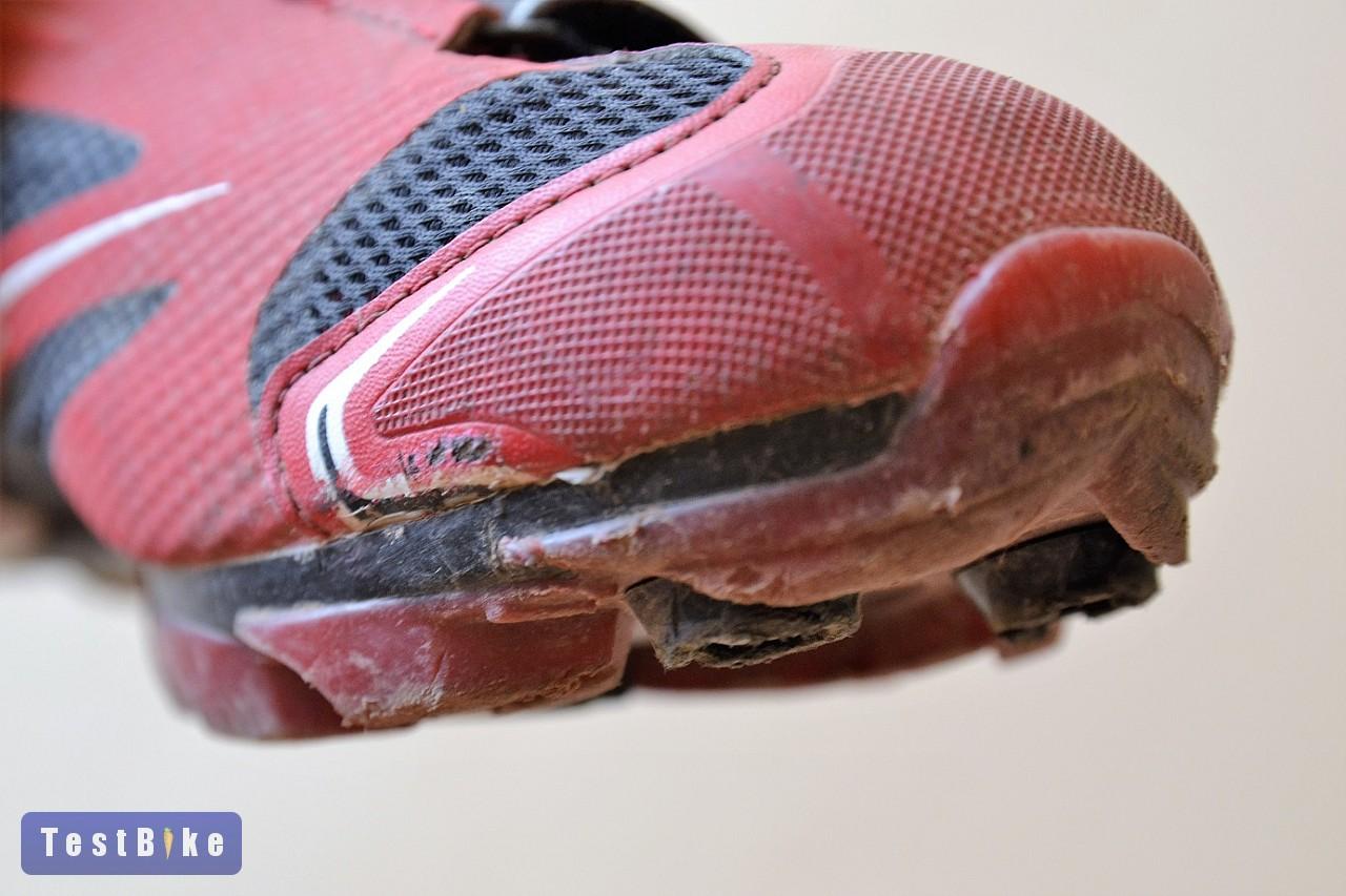 Northwave Scorpius SRS 2014 kerékpáros cipő. Orr kb. 3 év után 4275087612