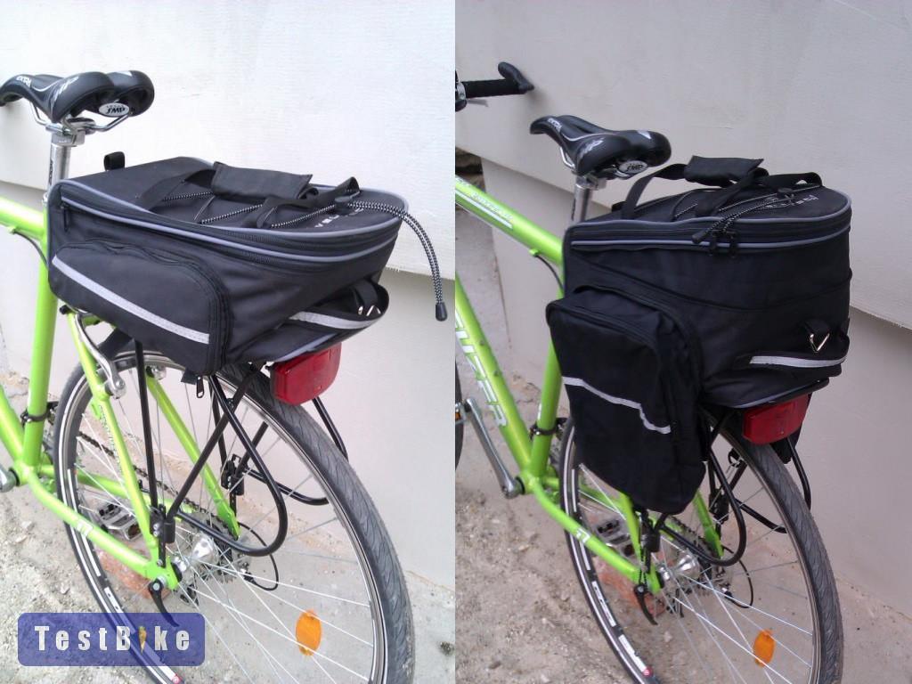Velotech csomagtartótáska 2013 hátizsák táska. Minimum és Maximum 5de49c2861