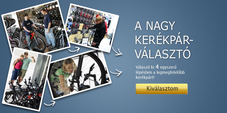 a nagy kerékpár választó